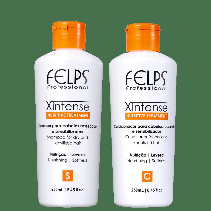 Kit Felps Profissional XIntense Nutrição Duo (2 Produtos)