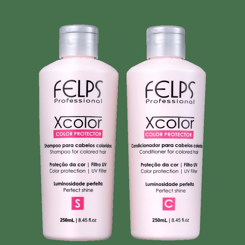 Kit Felps Profissional XColor Proteção da Cor Duo (2 Produtos)