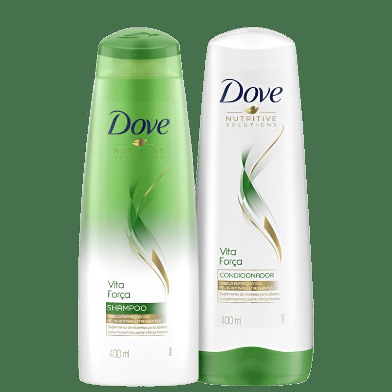 Kit Dove Vita Força Duo (2 Produtos)