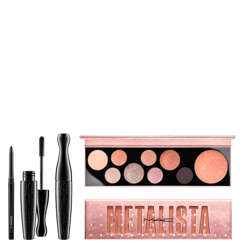 Kit M·A·C Metalista (3 Produtos)