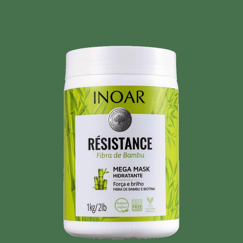 Inoar Résistance Fibra de Bambu - Máscara Capilar 1000g