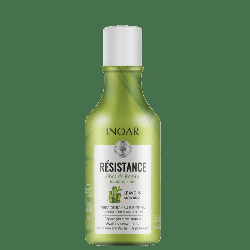 Inoar Résistance Fibra de Bambu - Creme Leave-in 250ml