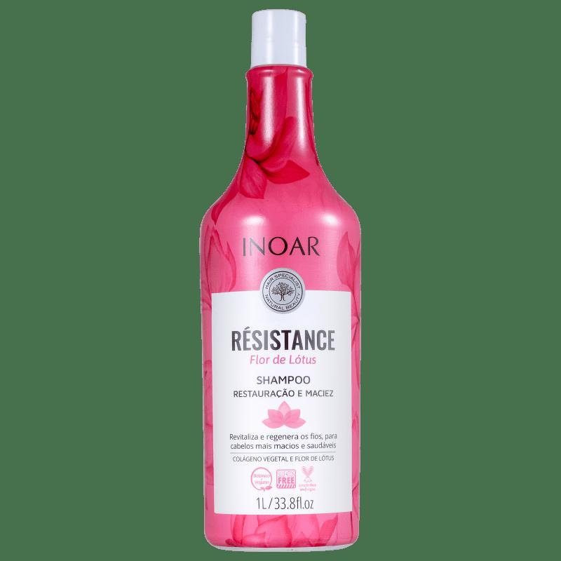 Inoar Résistance Flor de Lótus - Shampoo 1000ml