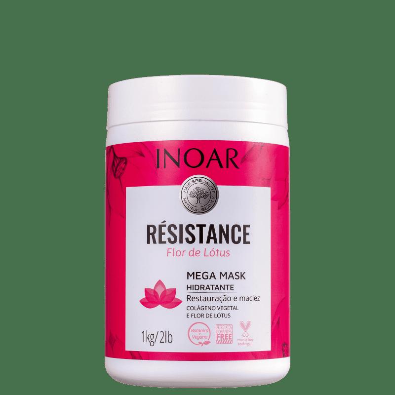Inoar Résistance Flor de Lótus - Máscara Capilar 1000g