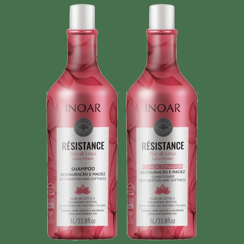 Kit Inoar Résistance Flor de Lótus Salon Duo (2 Produtos)