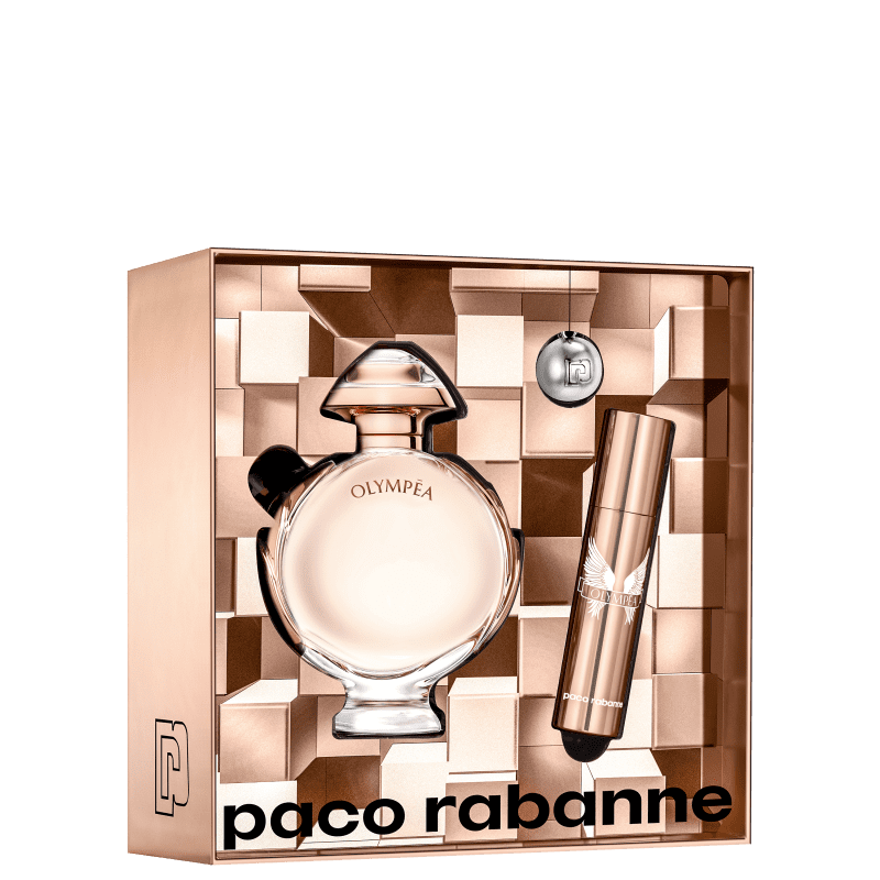 Conjunto Olympéa Double Paco Rabanne Feminino - Eau de Parfum 50ml + Travel Size 10ml
