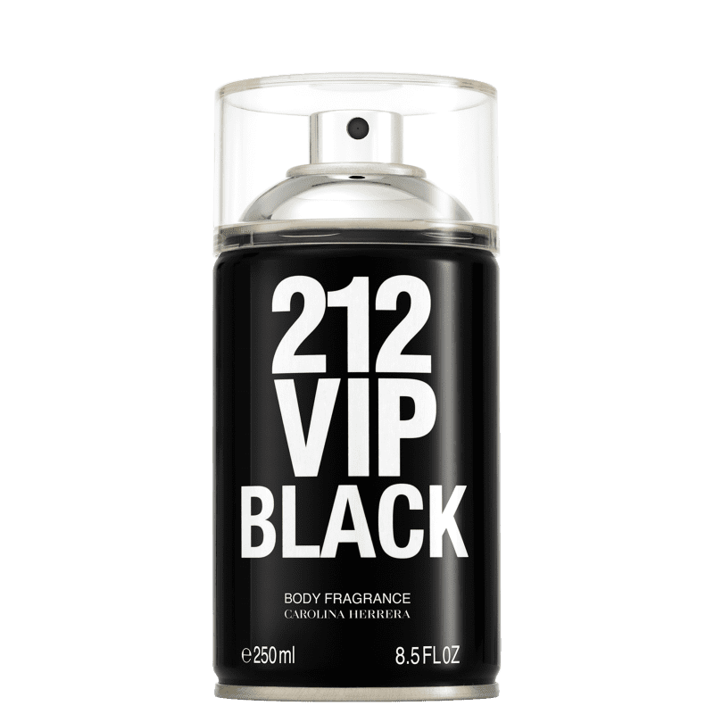 Carolina Herrera 212 VIP Men Black - Body Spray Masculino 250ml