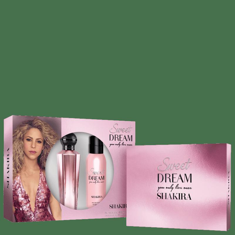 Conjunto Sweet Dream Body Shakira Feminino - Eau de Toilette 50ml + Loção Corporal 75ml