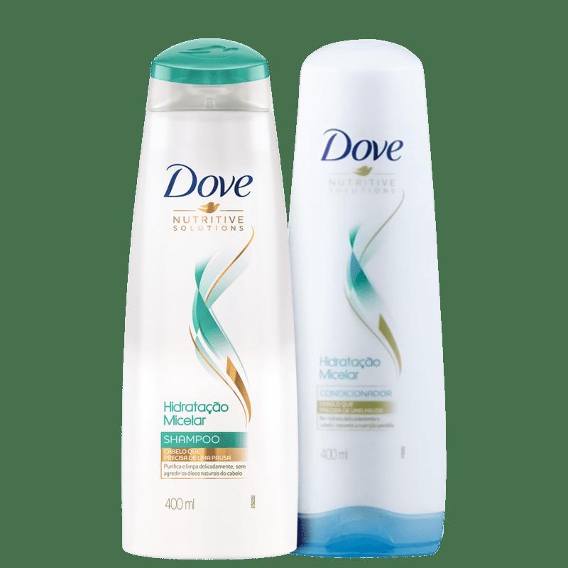 Kit Dove Hidratação Micelar Duo (2 Produtos)