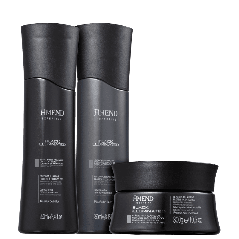Kit Amend Black Illuminated Trio (3 Produtos)
