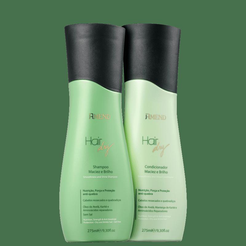 Kit Amend Hair Dry Maciez e Brilho Duo (2 Produtos)