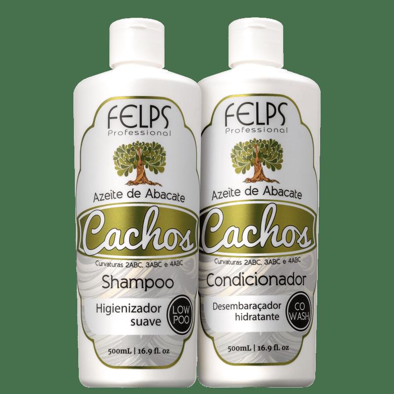 Kit Felps Profissional Cachos Azeite de Abacate Duo (2 Produtos)