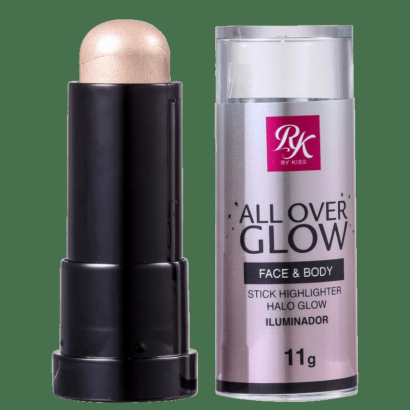 Kiss New York Ruby Kisses All Over Glow Halo Glow - Iluminador Cintilante 11g