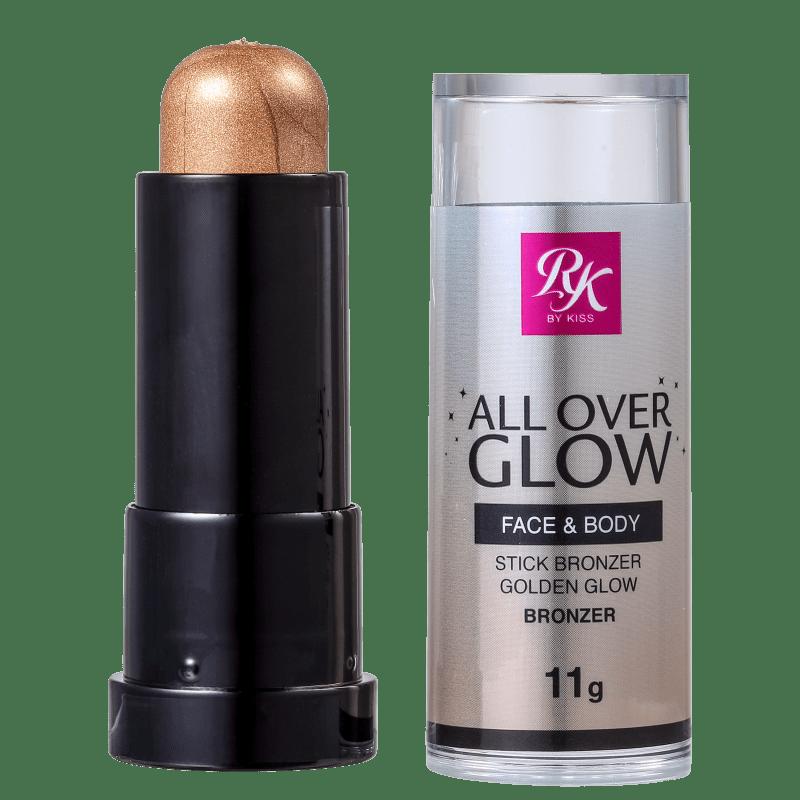 Kiss New York Ruby Kisses All Over Glow Golden Glow - Bronzer Luminoso 11g