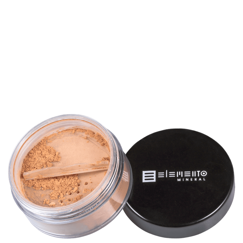 Elemento Mineral BB Powder Mineral FPS15 Warm - Pó Solto Matte 8g