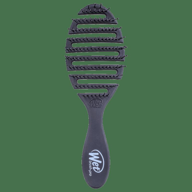 Wet Brush Pro Flex Dry Preto - Escova de Cabelo