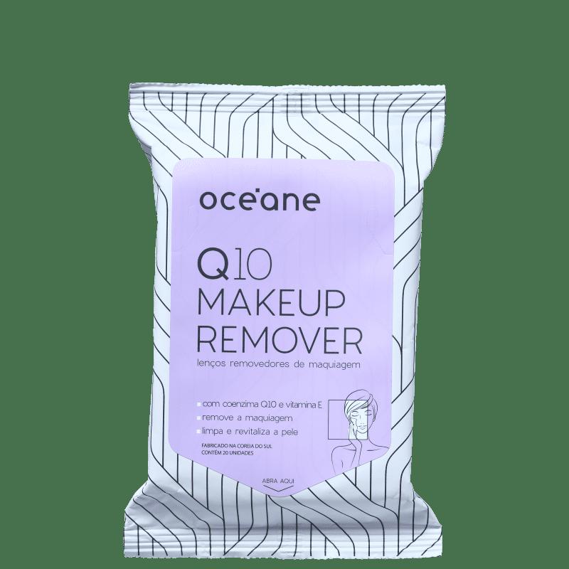 Océane Q10 Makeup - Lenço Demaquilante (20 Unidades)