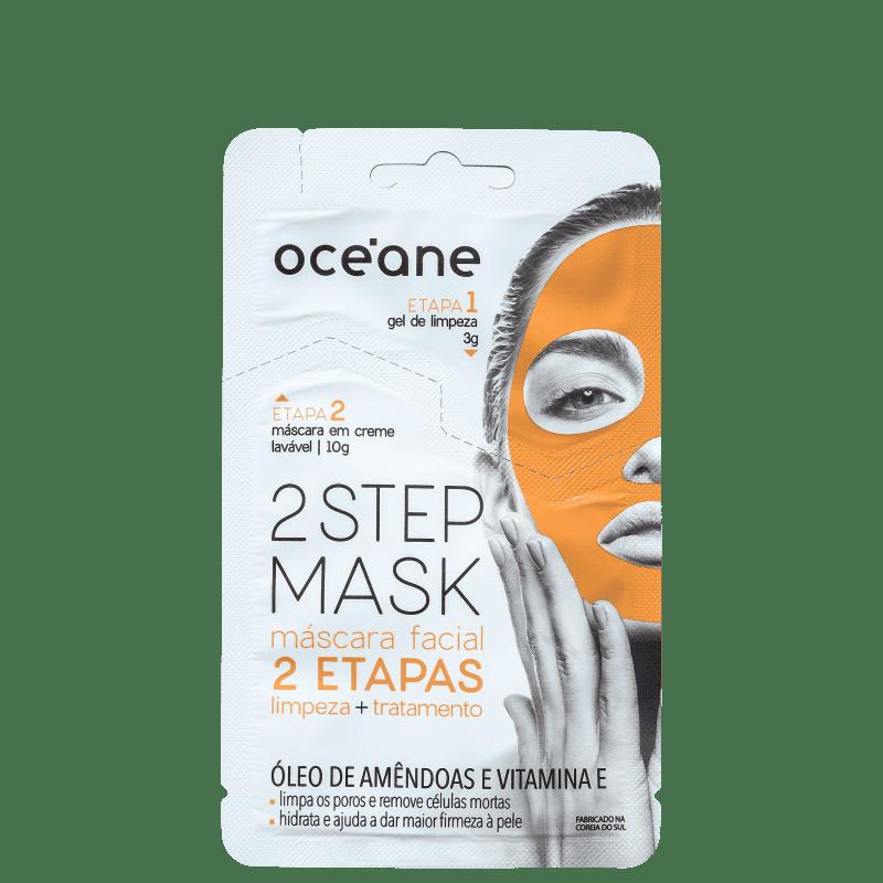 Océane 2 Step Amêndoa e Vitamina E - Máscara Facial 13g