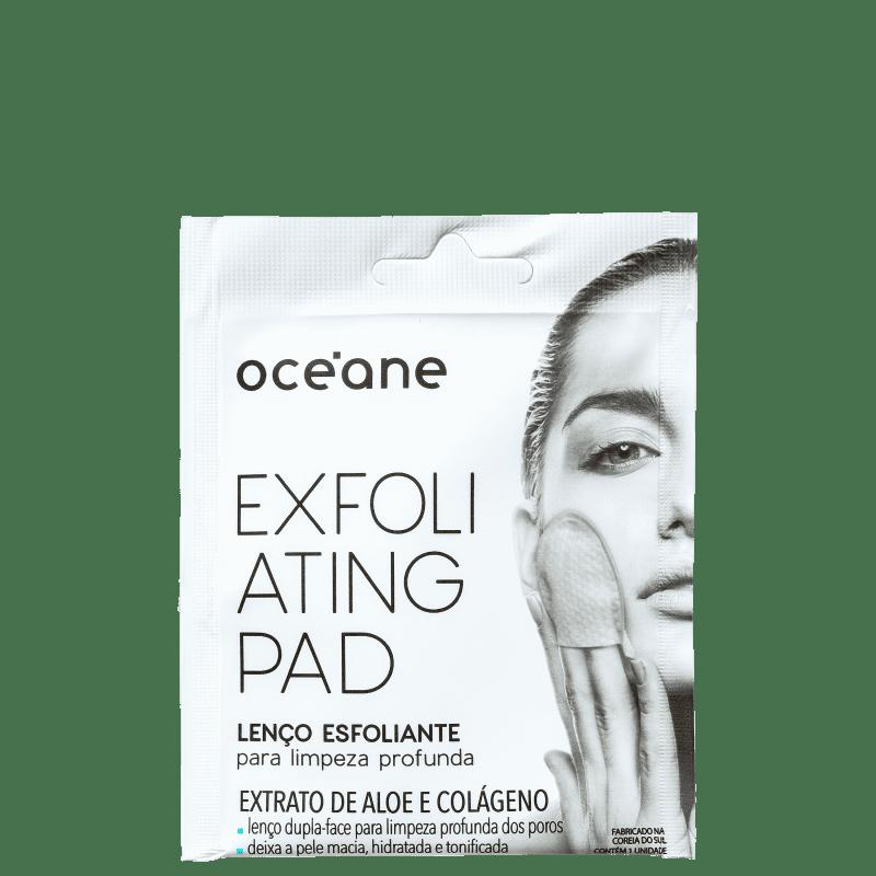 Océane Exfoliating Pad - Lenço Esfoliante para Limpeza Profunda (1 Unidade)