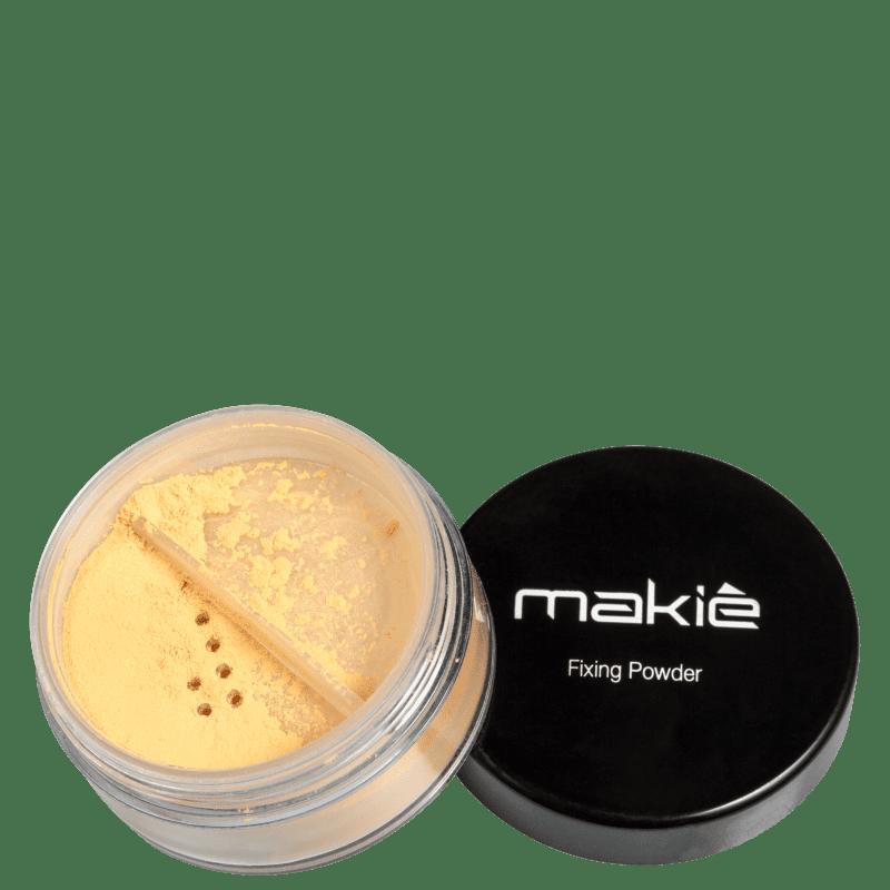 Makiê Fixing Yellowish - Pó Solto Translúcido 8g