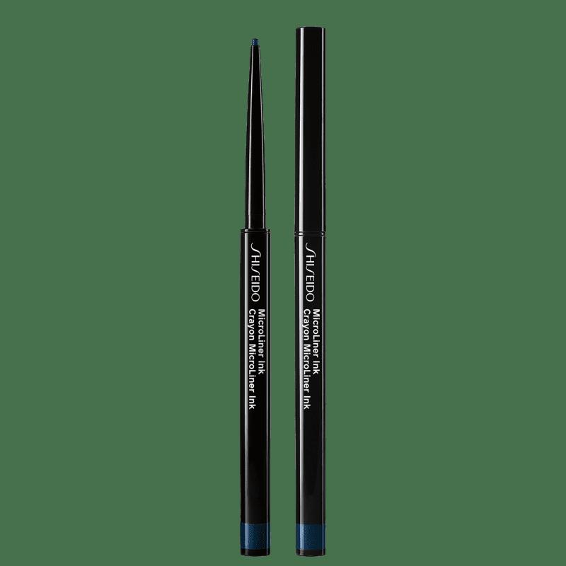 Shiseido MicroLiner Ink 04 Navy - Lápis de Olho 0,08g