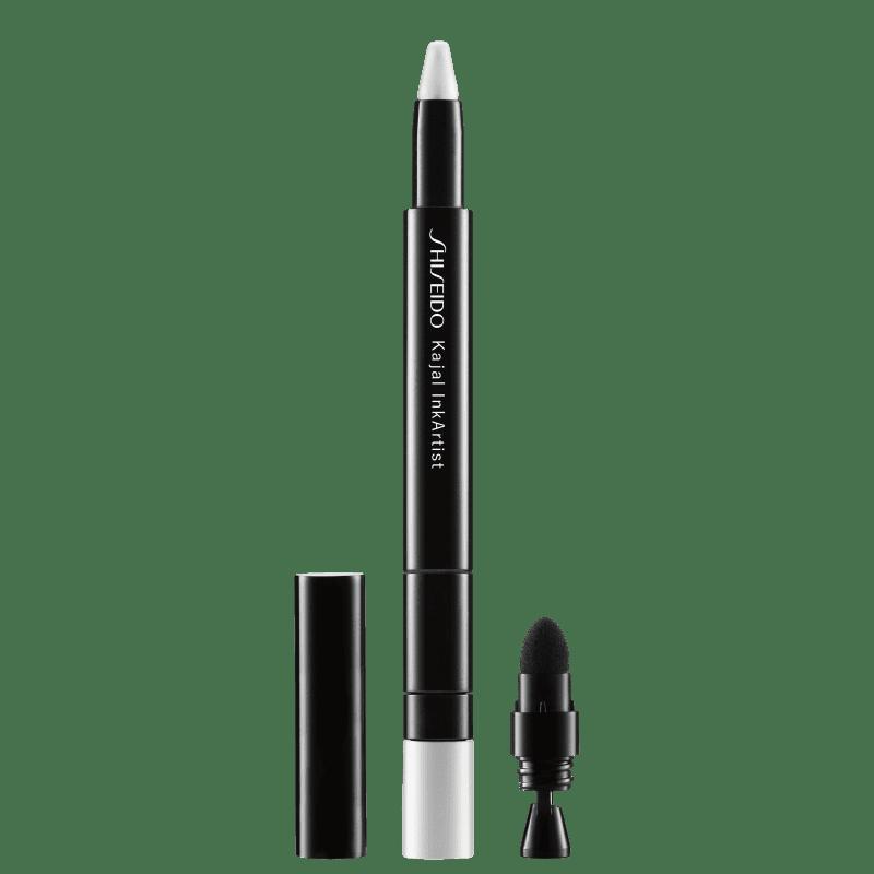 Shiseido Kajal InkArtist 10 Kabuki White - Lápis de Olho 0,8g