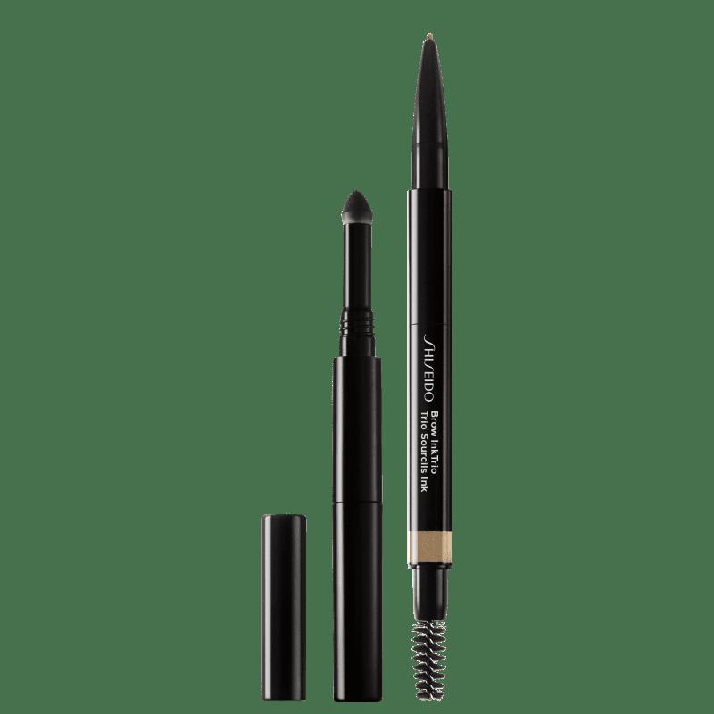 Shiseido Brow InkTrio 02 Taupe - Lápis para Sobrancelha 0,06g
