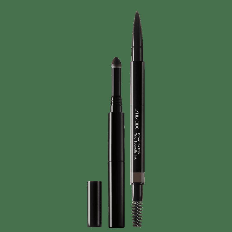 Shiseido Brow InkTrio 03 Deep Brown - Lápis para Sobrancelha 0,06g