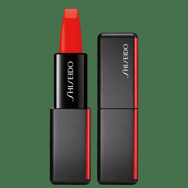 Shiseido ModernMatte Powder 509 Flame - Batom 4g