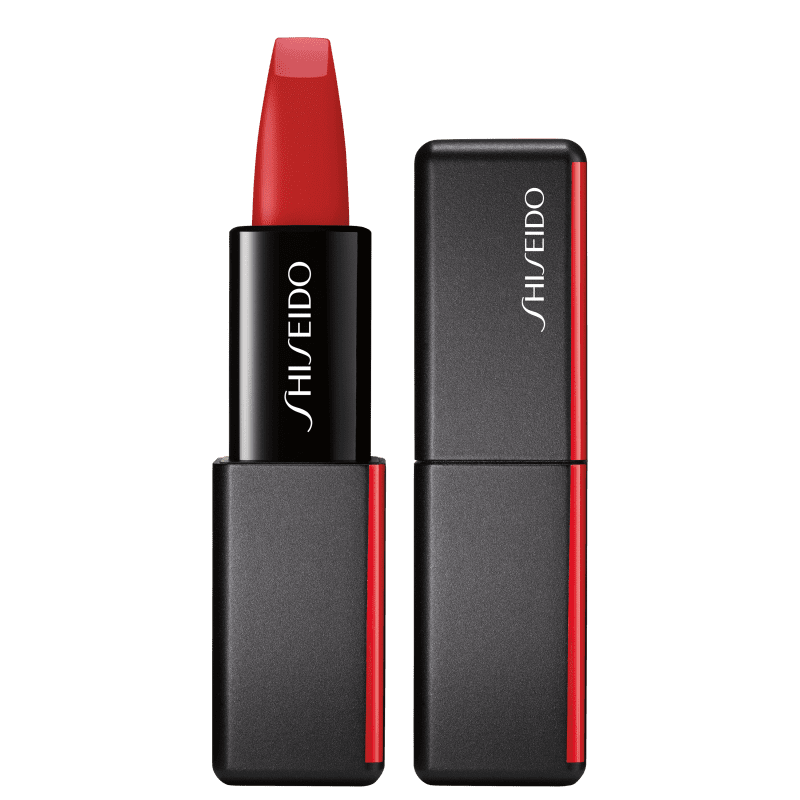 Shiseido ModernMatte Powder 514 Hyper Red - Batom 4g