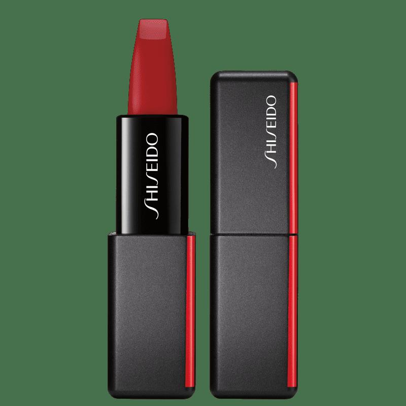 Shiseido ModernMatte Powder 516 Exotic Red - Batom 4g