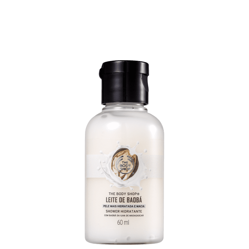 The Body Shop Leite de Baobá - Sabonete Líquido 60ml