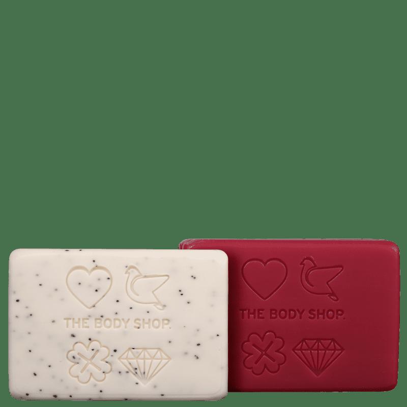 Kit The Body Shop Ritual Encantado Paz & Amor (2 Produtos)
