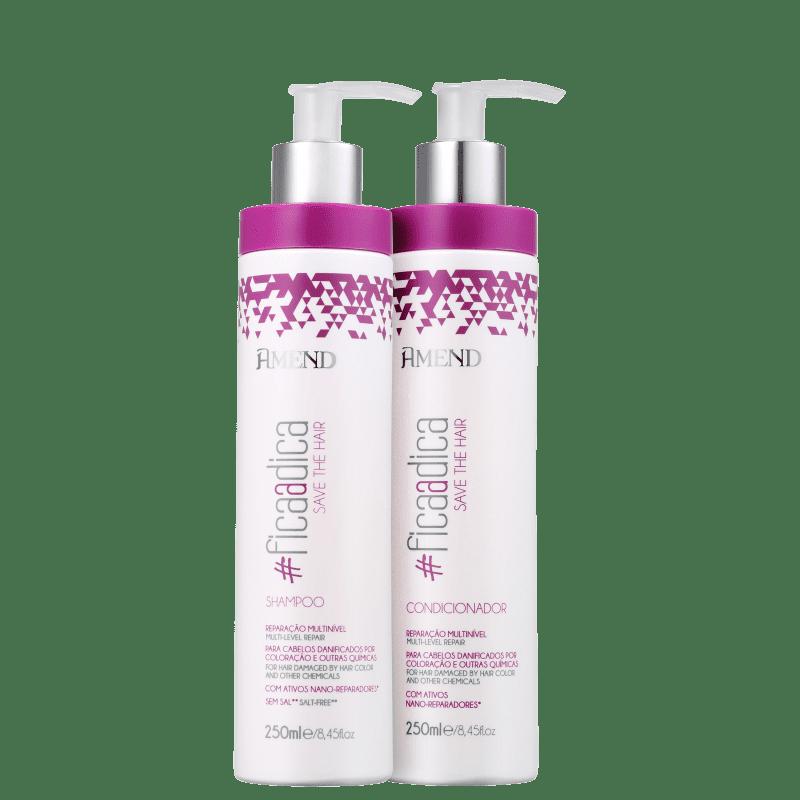 Kit Amend #Ficaadica Save The Hair Duo (2 Produtos)