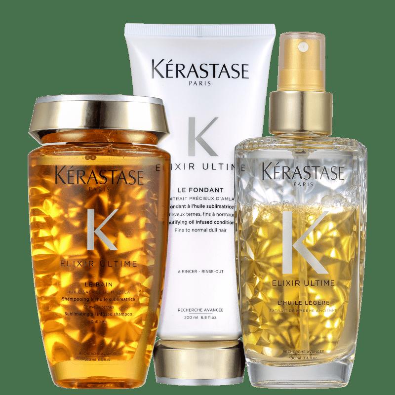 Kit Kérastase Elixir Ultime Légère (3 Produtos)