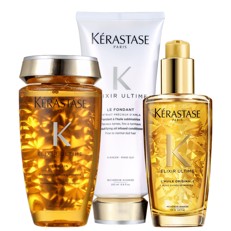 Kit Kérastase Elixir Ultime Originale (3 Produtos)