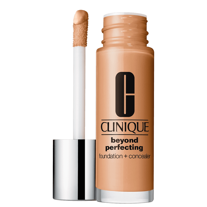 Clinique Beyond Perfecting Foundation + Concealer 17 Nutty - Base 2 em 1 30ml