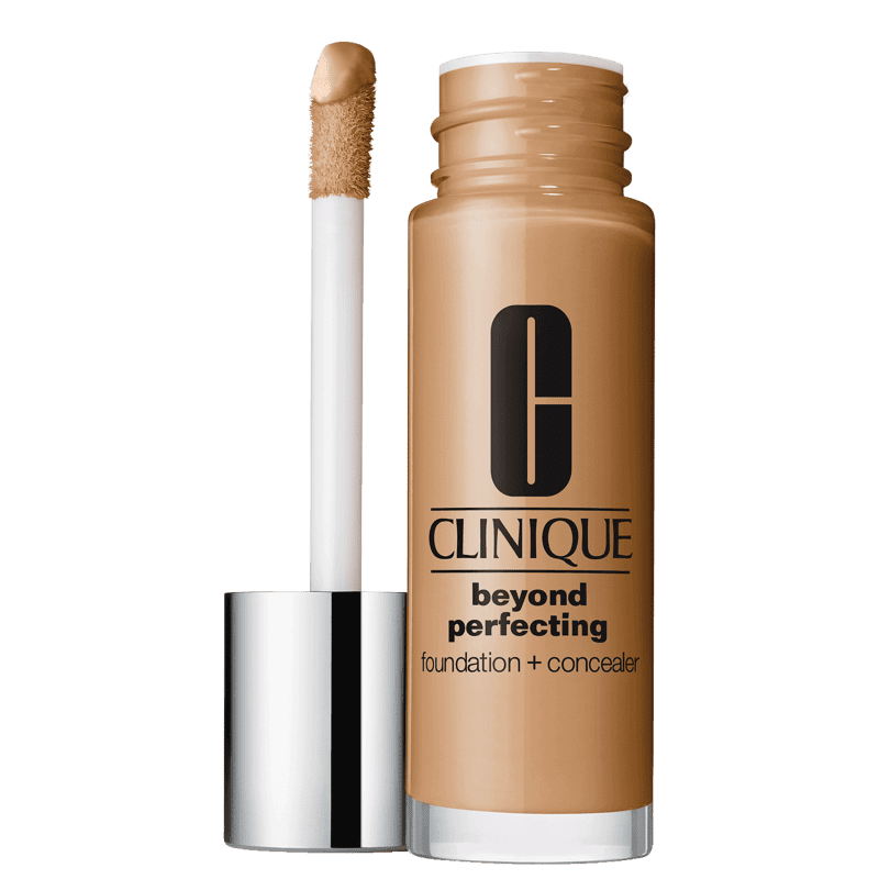 Clinique Beyond Perfecting Foundation + Concealer 18 Sand - Base 2 em 1 30ml