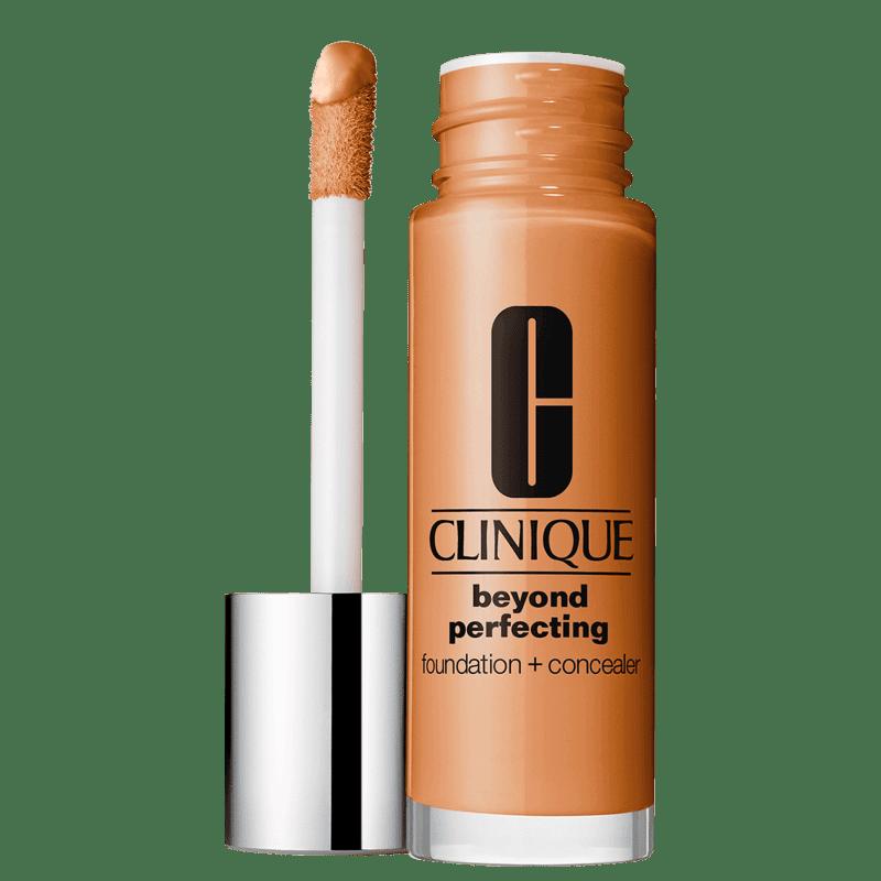 Clinique Beyond Perfecting Foundation + Concealer 23 Ginger - Base 2 em 1 30ml