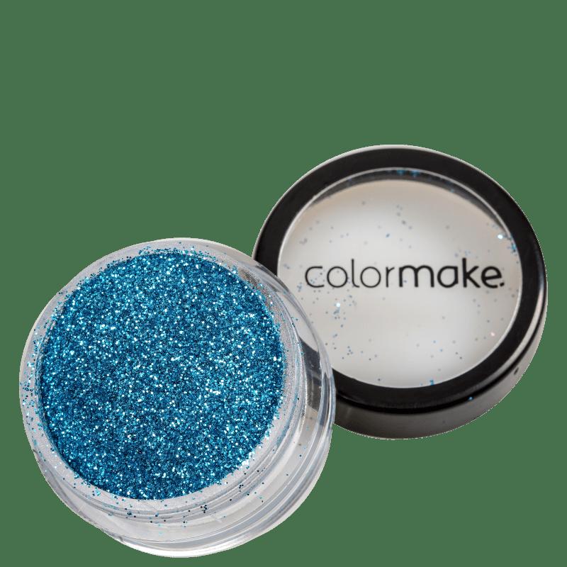 Colormake Pó Pote Azul Claro - Glitter 4g