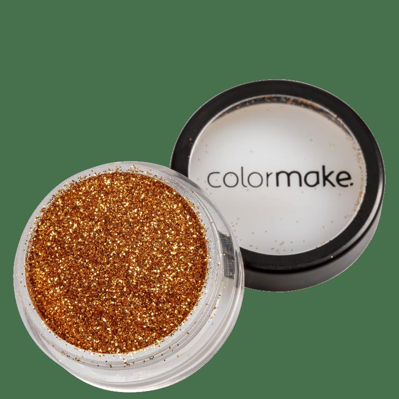 Colormake Pó Pote Ouro - Glitter 4g