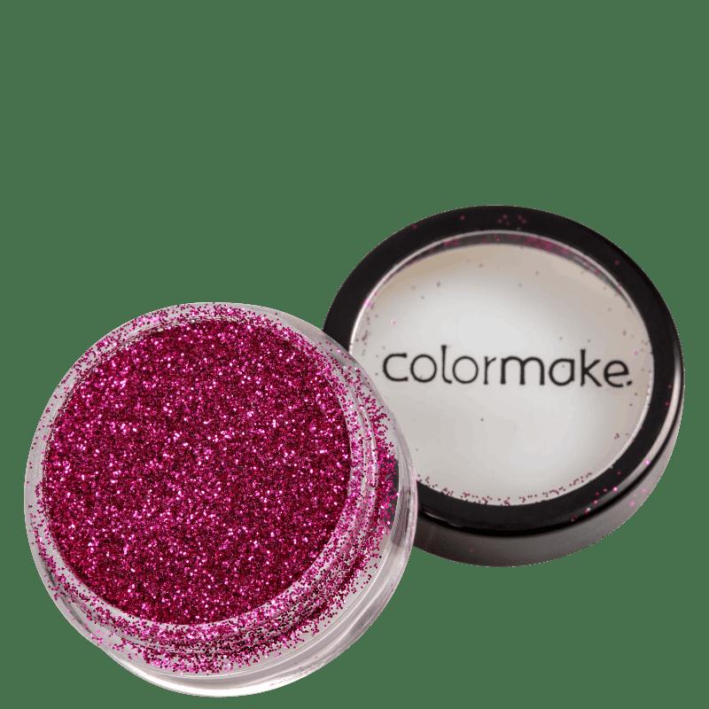 Colormake Pó Pote Pink - Glitter 4g