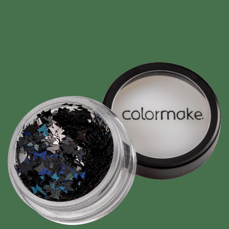 Colormake Shine Formatos Borboleta Preto - Glitter 2g