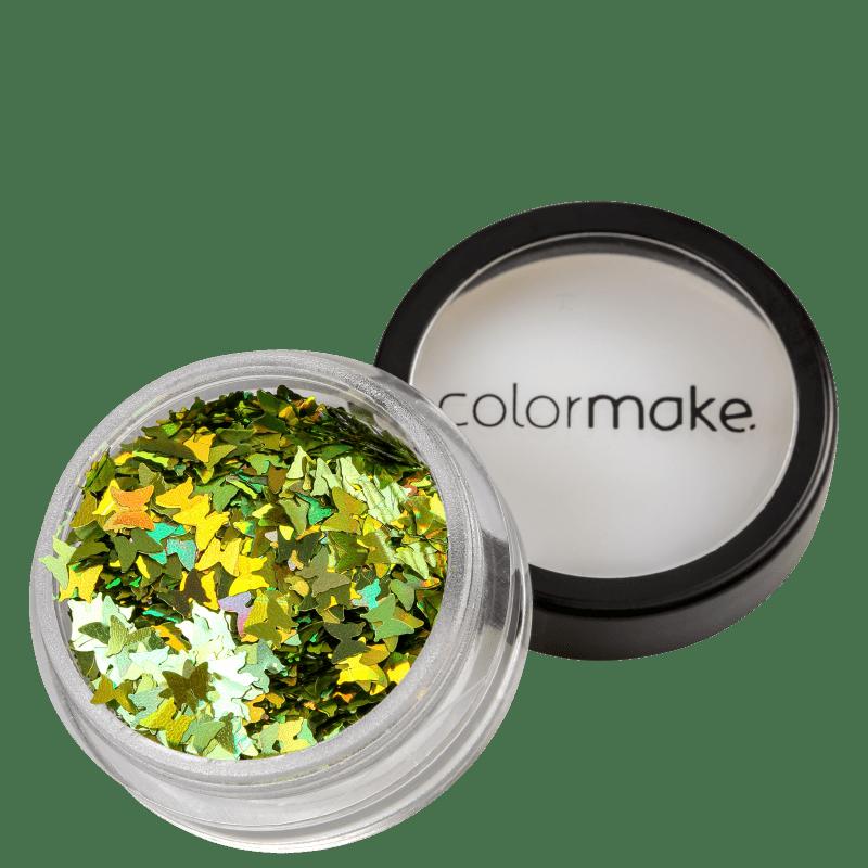 Colormake Shine Formatos Borboleta Verde - Glitter 2g