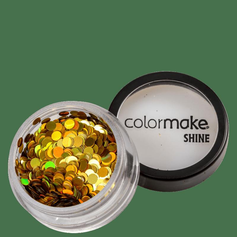 Colormake Shine Formatos Ponto Ouro - Glitter 2g