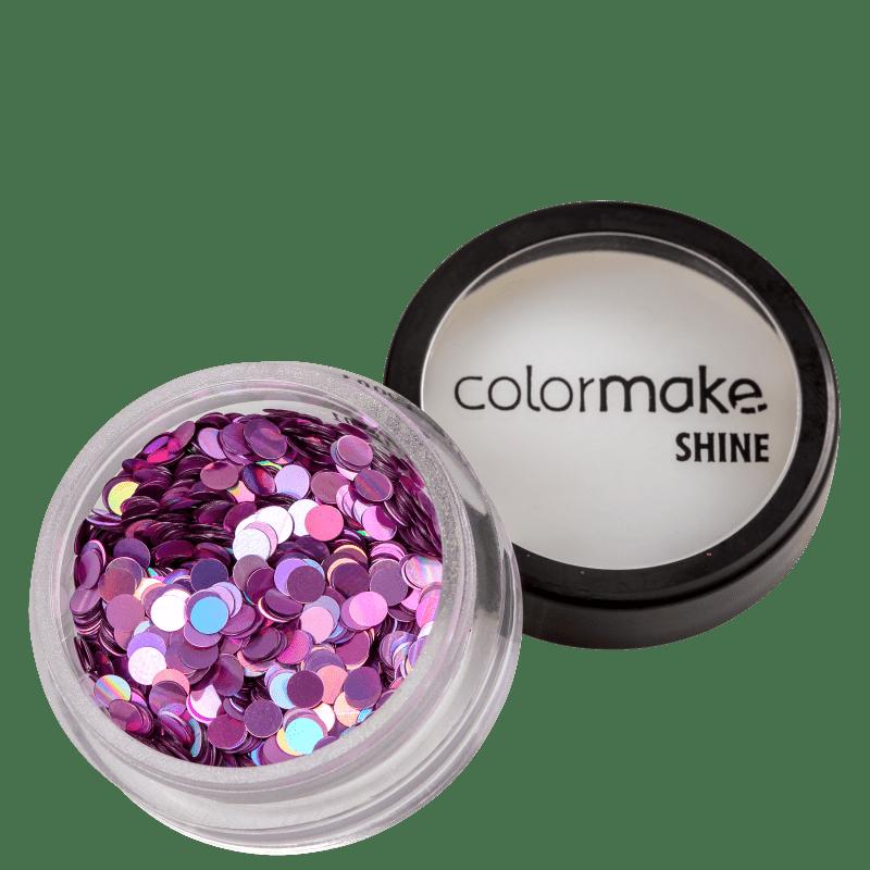 Colormake Shine Formatos Ponto Pink - Glitter 2g
