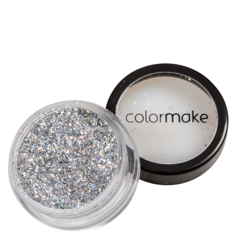 Colormake Shine Formatos Filete Prata - Glitter 2g