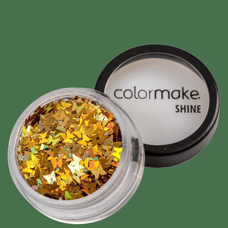 Colormake Shine Formatos Borboleta Ouro - Glitter 2g