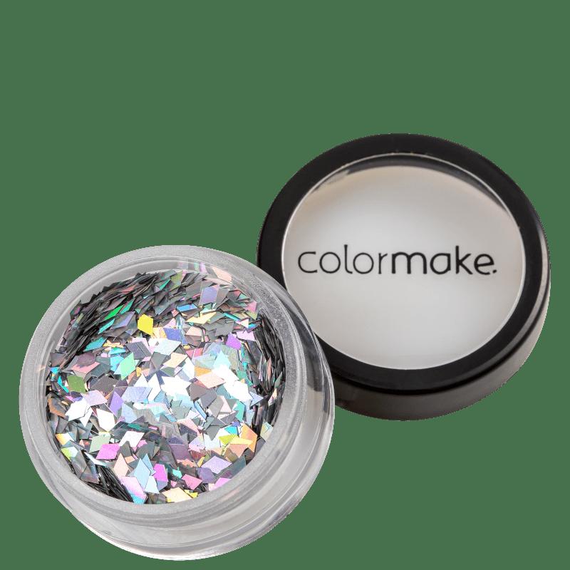 Colormake Shine Formatos Diamante Prata - Glitter 2g