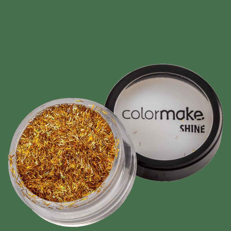 Colormake Shine Formatos Filete Ouro - Glitter 2g